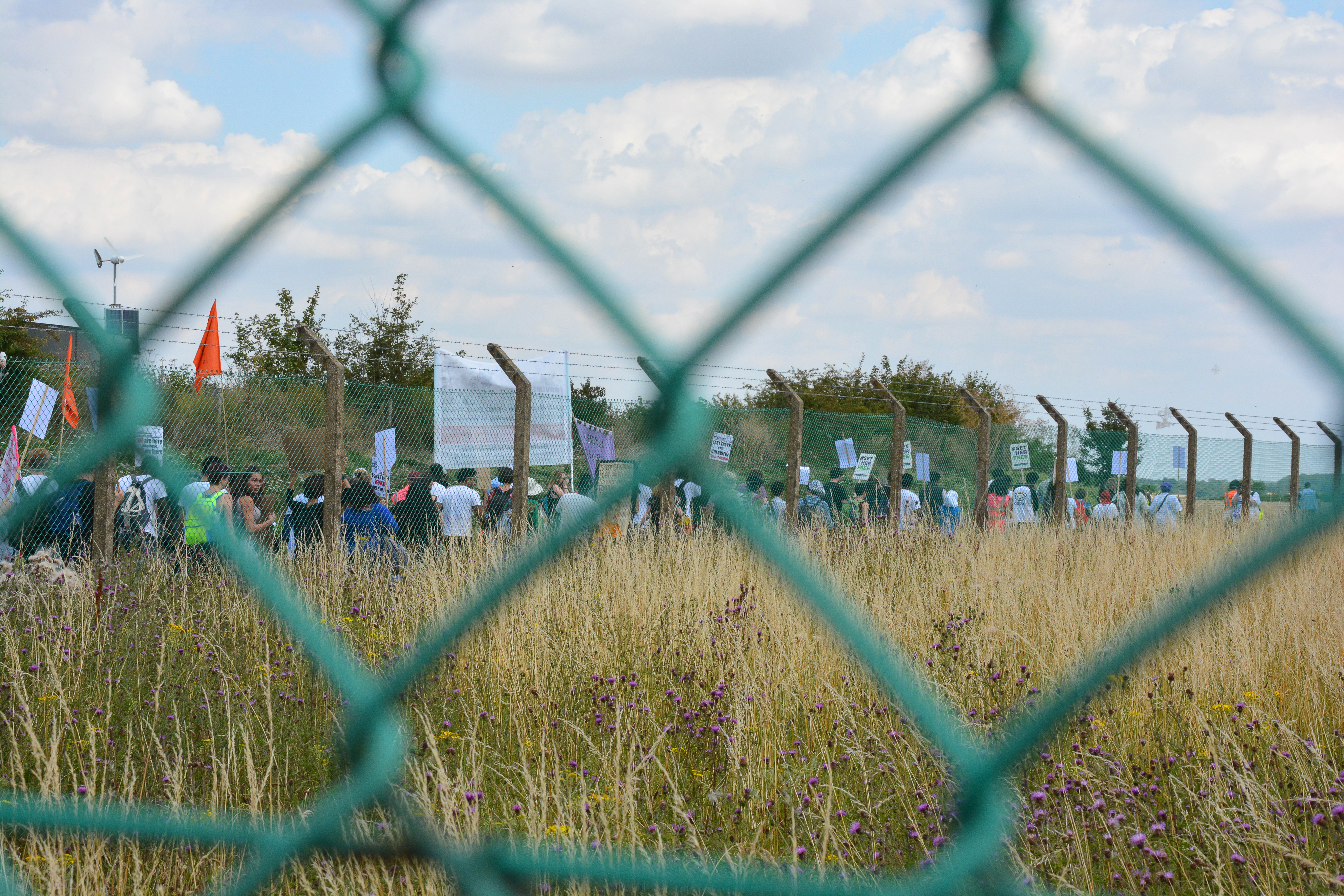 Yarl's Wood Protest