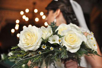 wedding photography bride bouquet flowers
