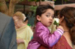 wedding photography child kid flower portrait