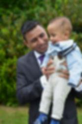 wedding photography family groom