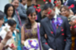 wedding photography bride red groom indian