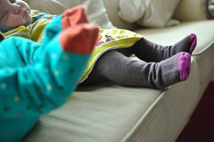 baby feet sleeping photography