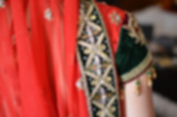 wedding photography indian red