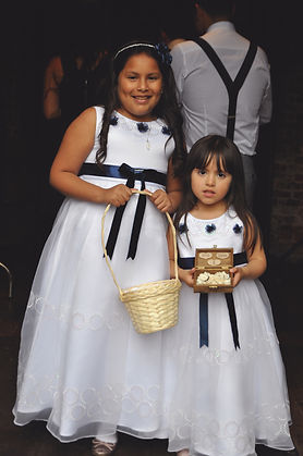 wedding photography child children bridemaid