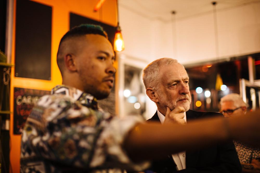 Jeremy Corbyn & iDJ Photography