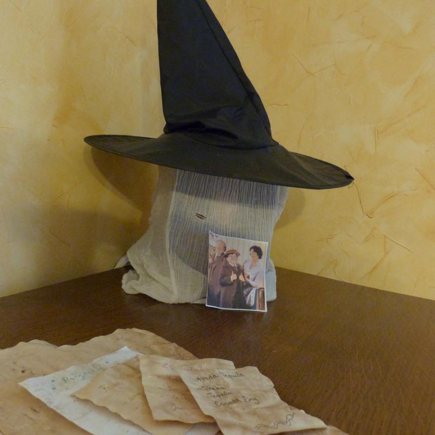 Harry Potter chapeau pointu parchemin Dursley