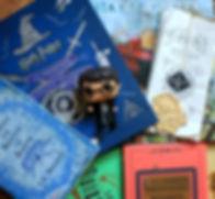 Harry Potter livres et figurine