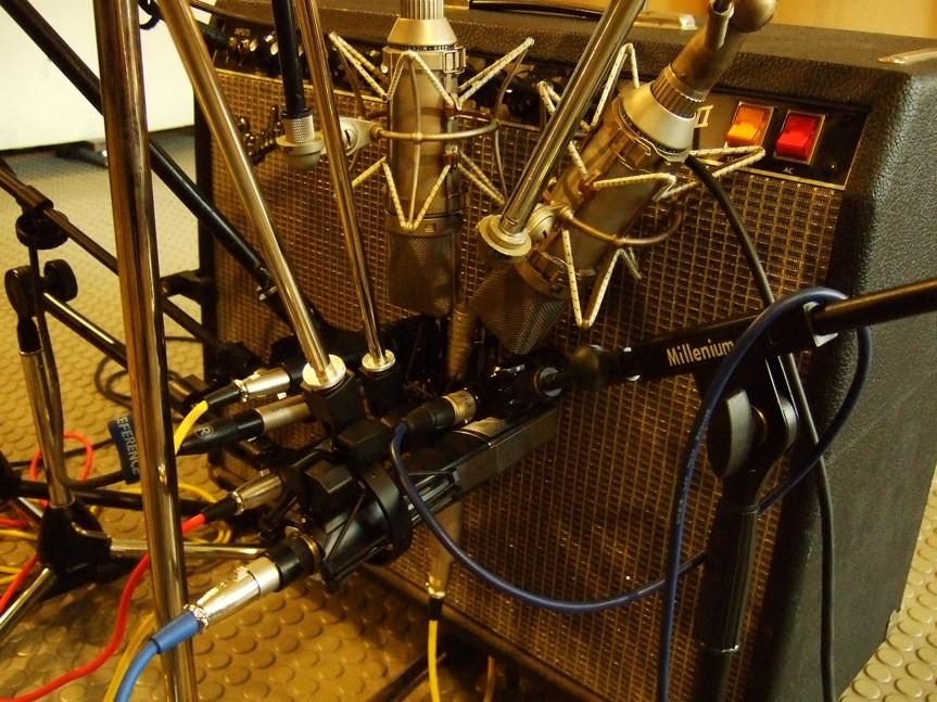 KRAUT | Cursos de sonido - Ecualizar la toma con los micrófonos