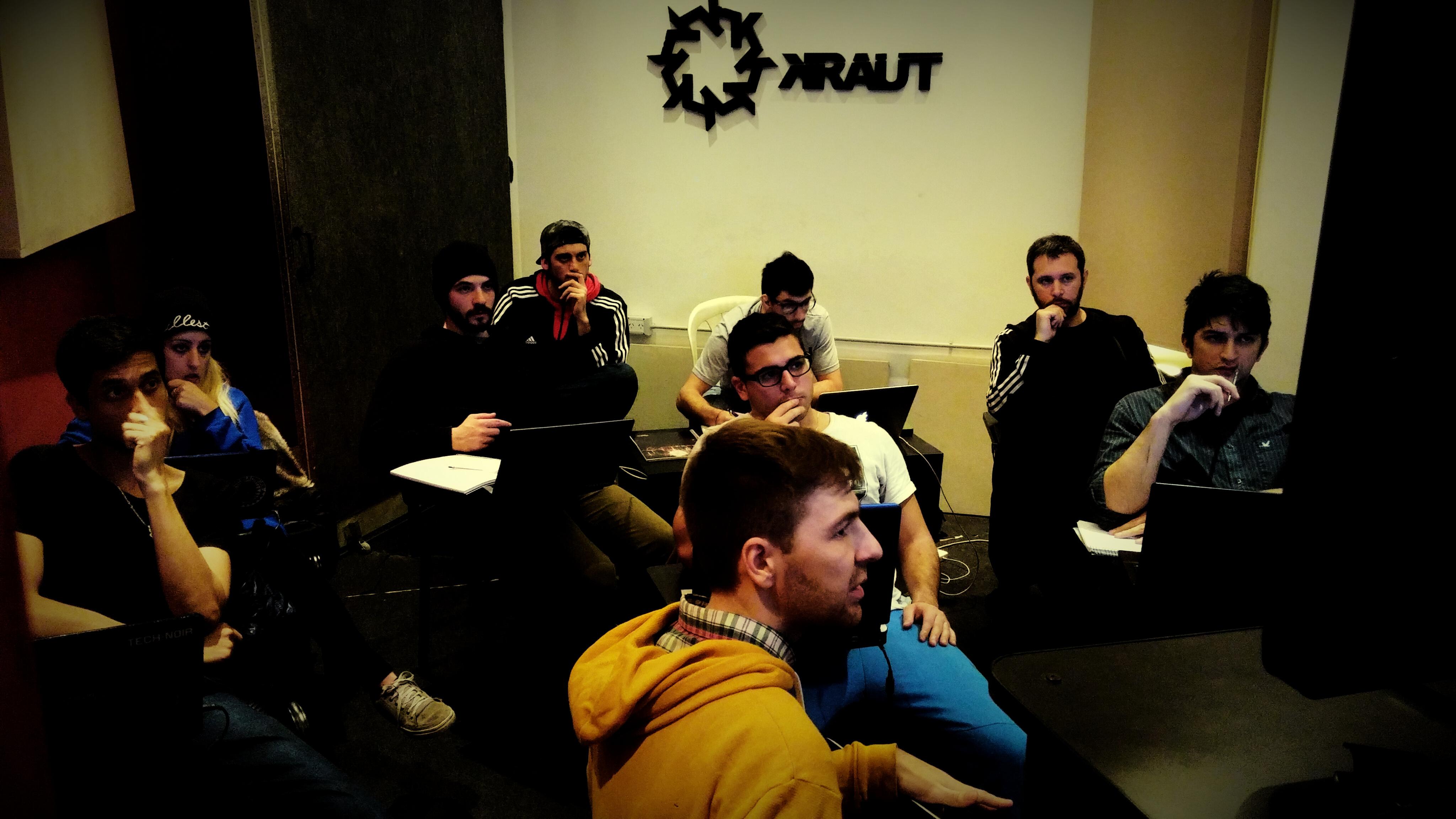 KRAUT | Cursos de sonido