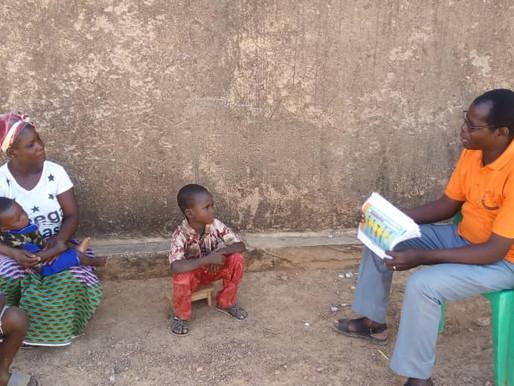 Burkina : sensibilisation Covid
