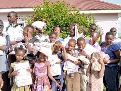 Ouganda : voilà les draps !