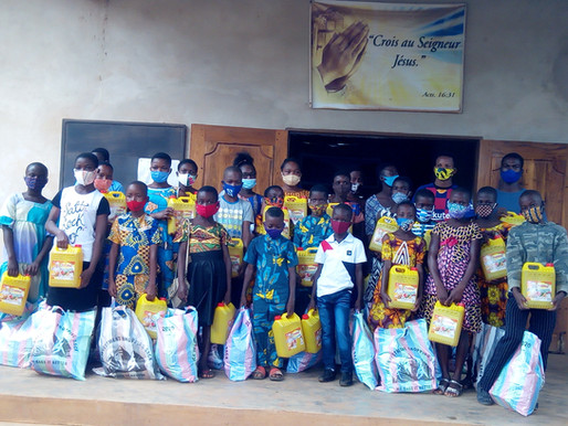 Togo : une aide spéciale aux filleuls
