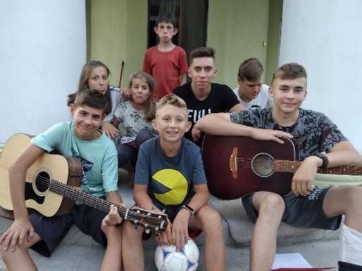 Du bonheur pour les enfants d'Ukraine