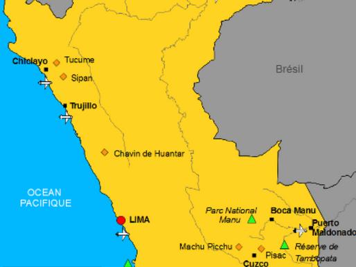 Des visites au Pérou