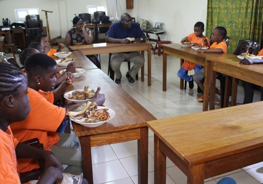 Cameroun : le merci d'un filleul !