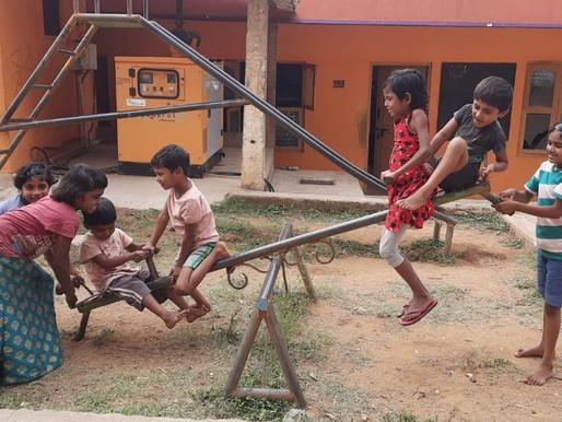 Inde : les jeux des petits