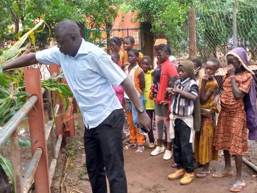 Burkina : visite au zoo