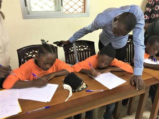 Rencontre de début d'année scolaire au Cameroun