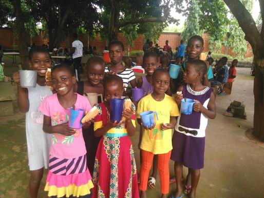 Togo : camp d'été pour les filleuls