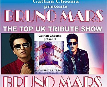 Bruno Mars tribute staring Gathan Cheema