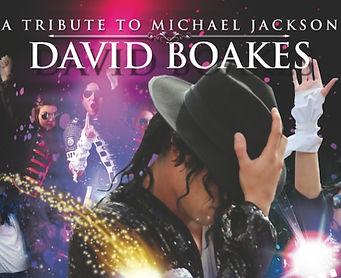 Michael Jackson tribute staring David Boakes