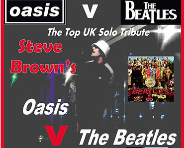 Oasis & The Beatles tribute show by Steve Brown