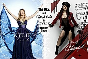 Kylie vs Cheryl tribute show by Joanne Steel