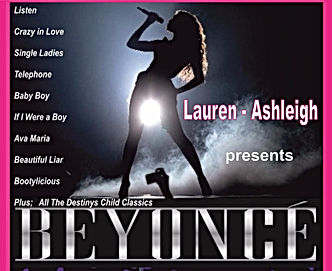 Beyonce tribute by Lauren Ashleigh