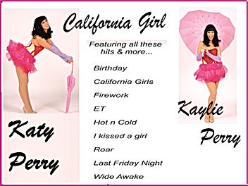Katy Perry tribute staring Kaylie Perry