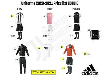 Goalie 2020-2021