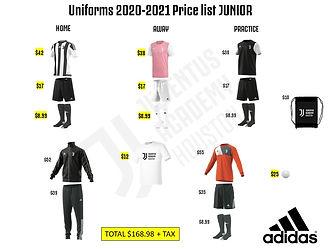 Junior 2020-2021