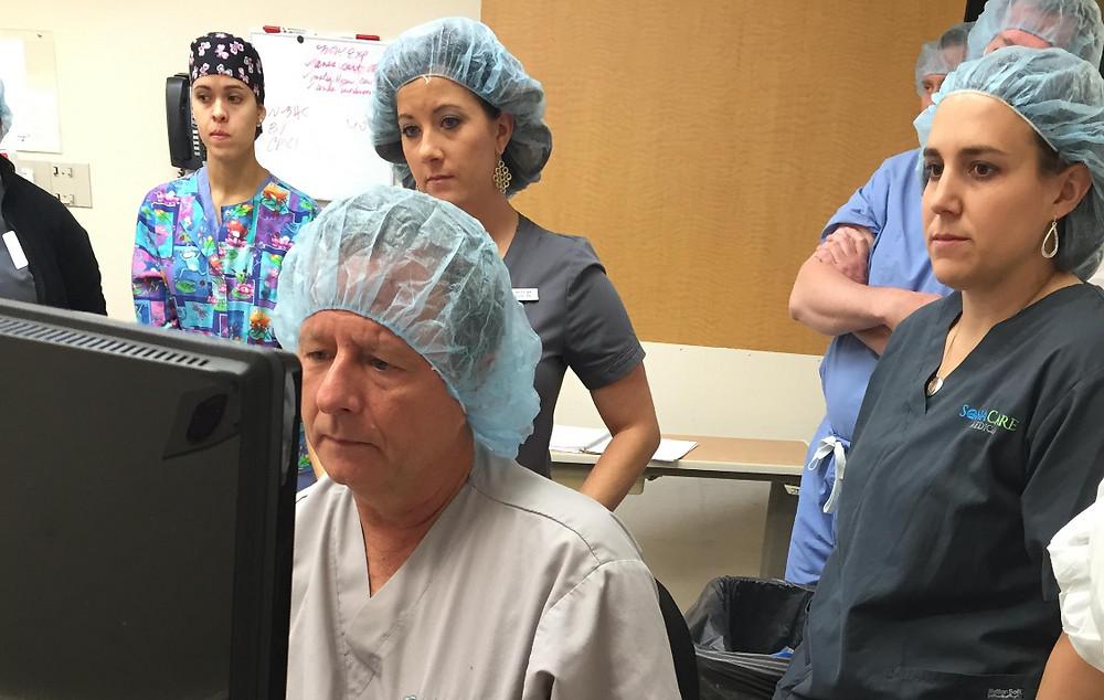 John Jurige, MD performs HIFU at Louisville Surgery Center