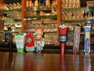 Tons of Craft Beers on Tap