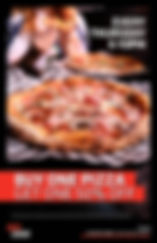 Red Card - Thursday Pizza Party - Poster
