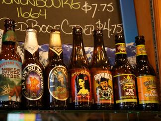 Great Craft Beer Selections, including Bottled Beer