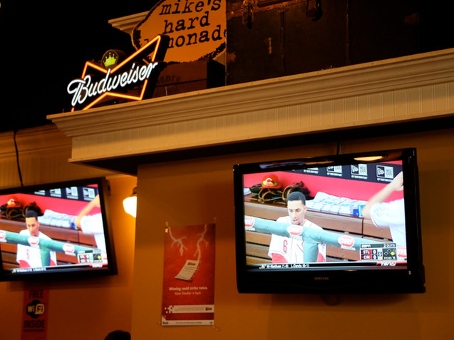Loads of HDTVs for Great Sports  Viewing