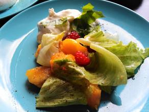 Foodie Blog by Klara - žuta salata, dekonstruirani rižito i tikka ražnjići
