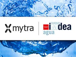 Acuerdo de colaboración IMDEA Agua - Mytra Control