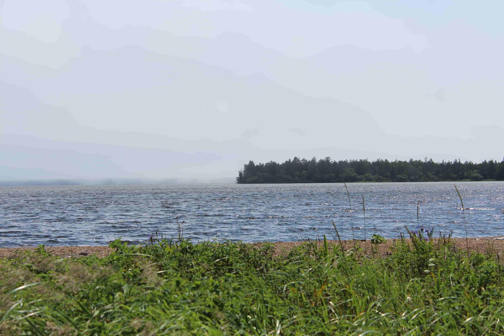 Озёра в тумане завораживают