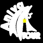 белый на прозрачном (для темного фона) (