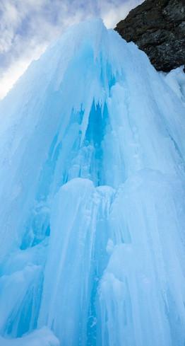 Ледопады бухты Тихой