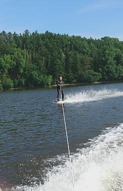При желании можно добавить и водные лыжи!