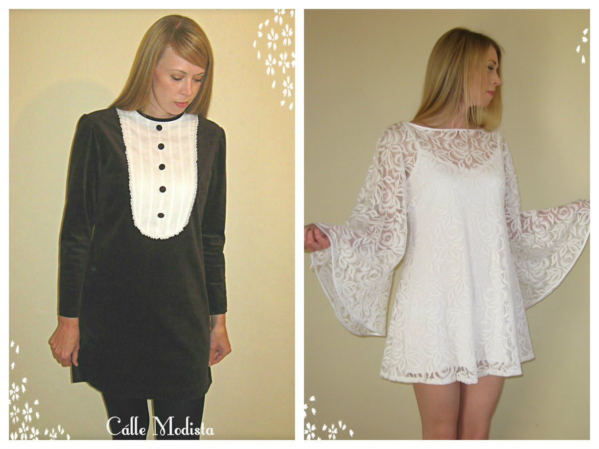 Velvet Dress & Lace Angel Dress