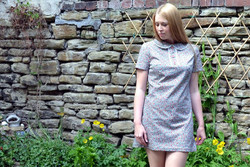 60s Mini Dress by Cálle Modista