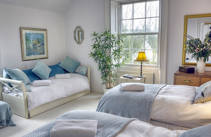 Austen Quad bedroom