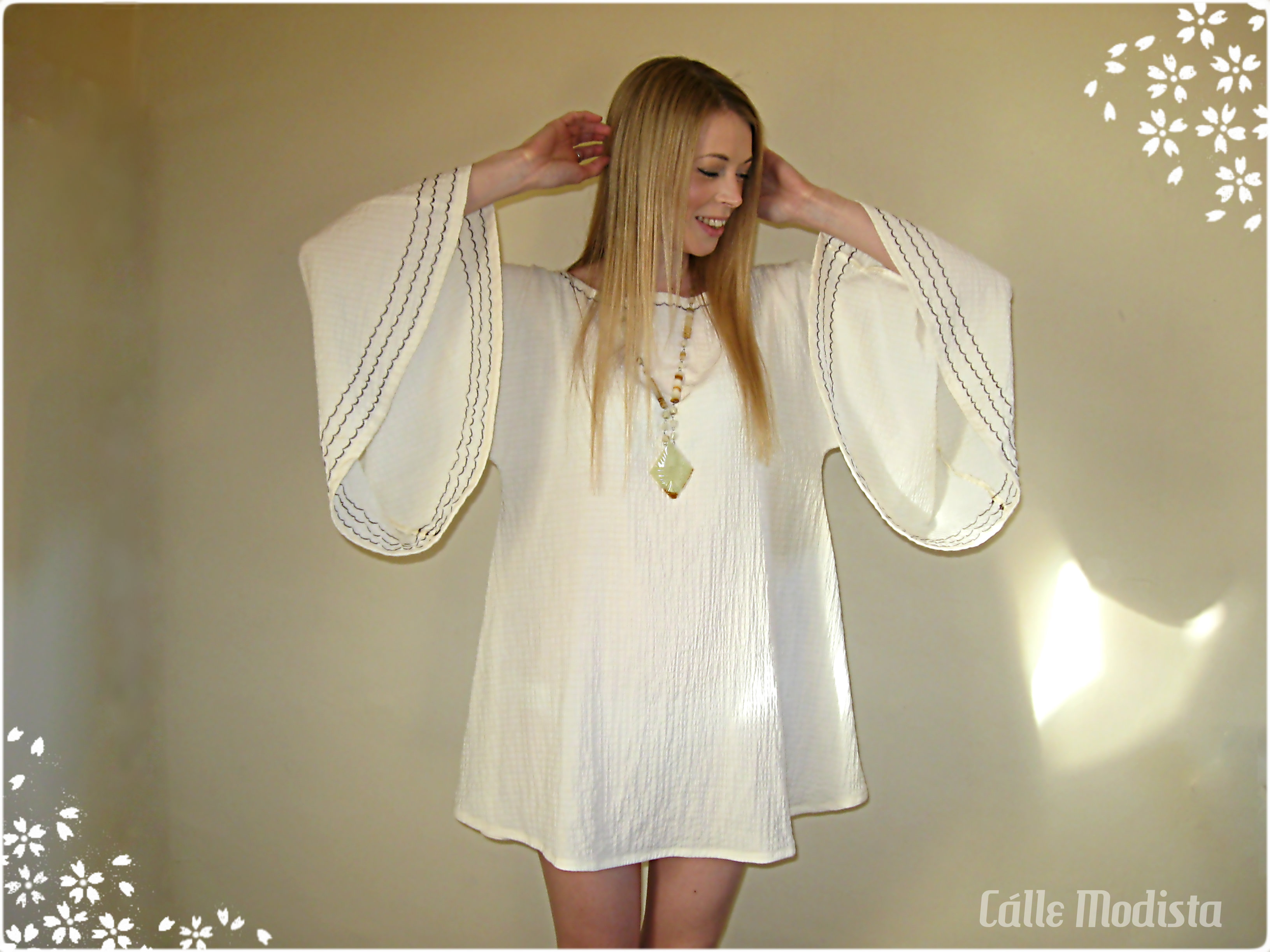 60s Angel Dress by Cálle Modista