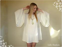 60s Angel Dress by Cálle Modista