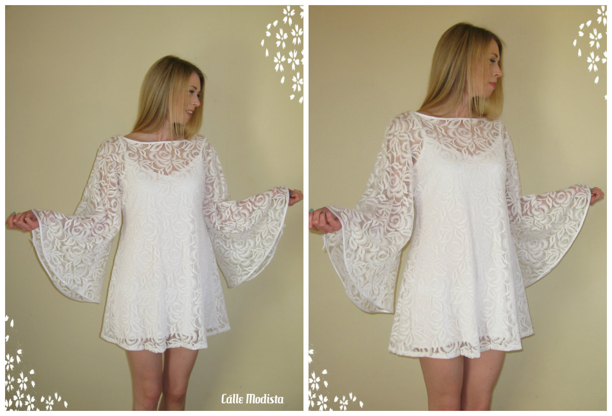 Lace 60s Angel Dress