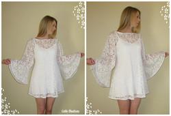 Lace 60s Angel Dress