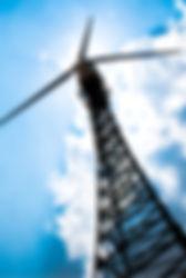 Lattice wind turbine structure
